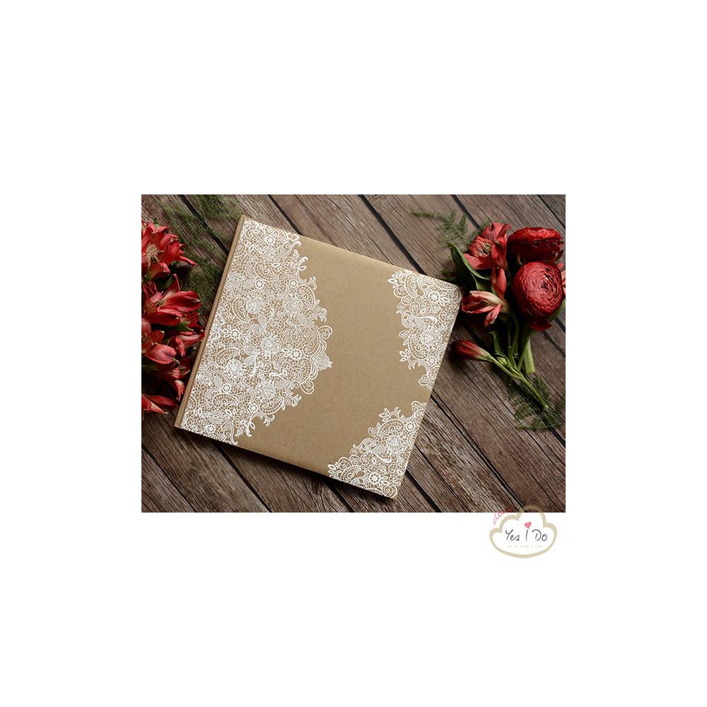 Guest book con decorazioni bianche - Decorazioni bianche ...
