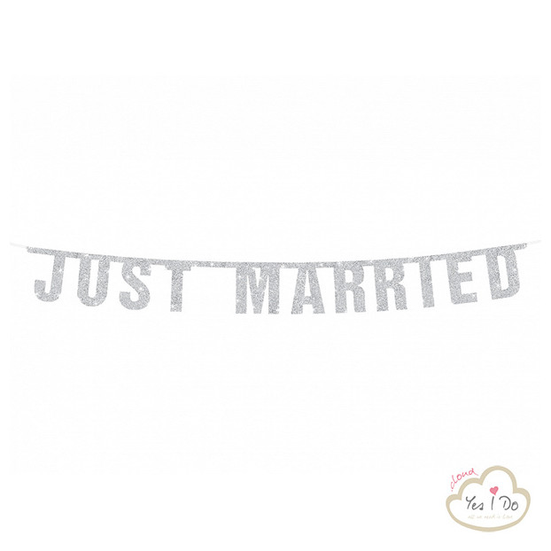 BANNER JUST MARRIED ARGENTO