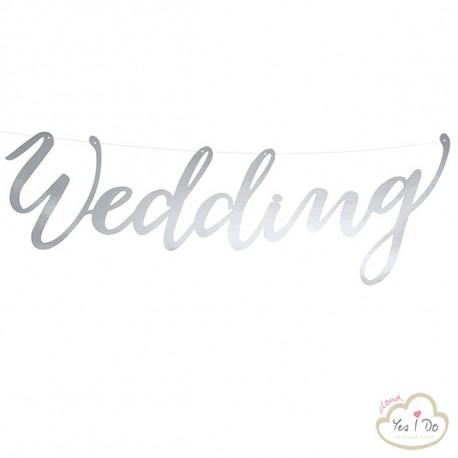 SILVER BANNER WEDDING