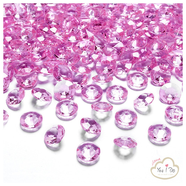 PINK DIAMOND CONFETTI