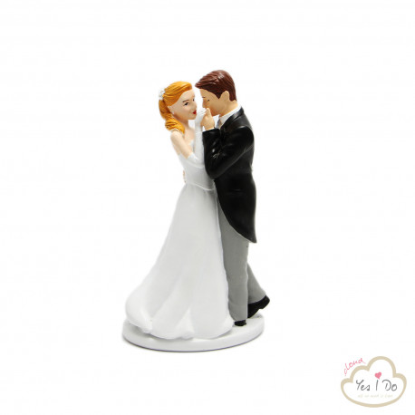 SWEET WEDDING CAKE TOPPER