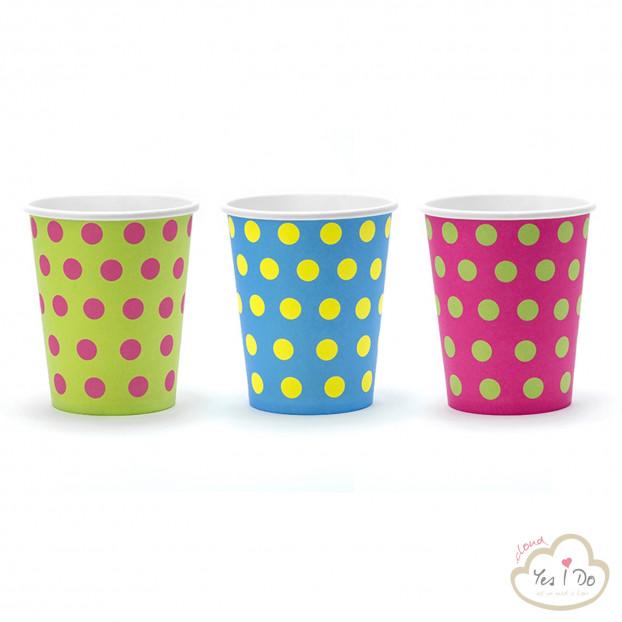 6 DOTS PAPER CUPS
