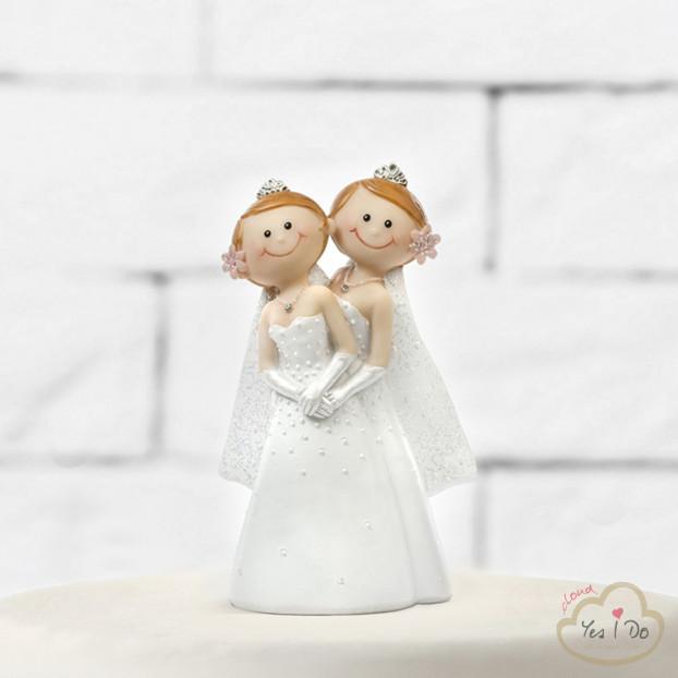 CAKE TOPPER BRIDES