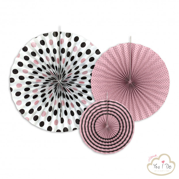 3 ROSETTE DECORATIVE SWEET