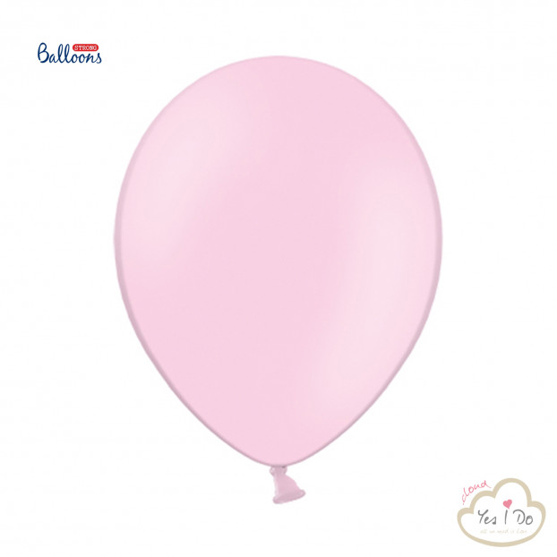 10 PASTEL BABY PING STRONG BALLONS