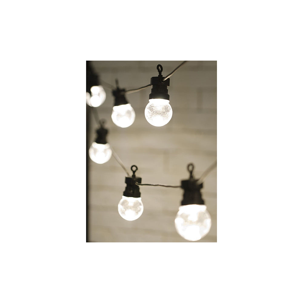 luci decorative con lampadine