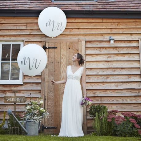 PALLONCINI GIGANTI MR & MRS