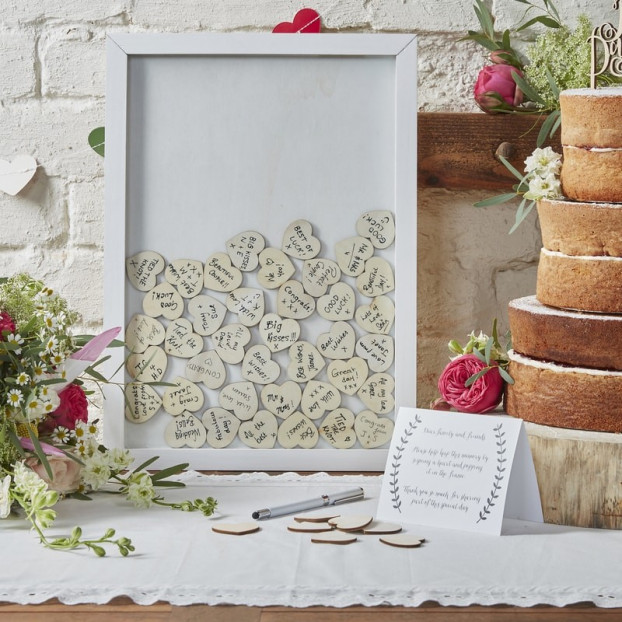 GUEST BOOK CORNICE D'AMORE
