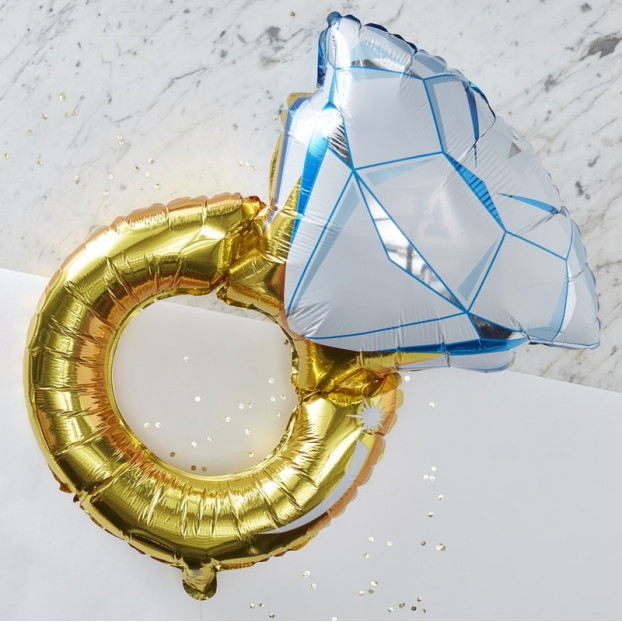 FOIL RING BALLOON