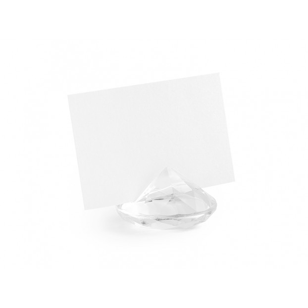 Place card holder - Colourless