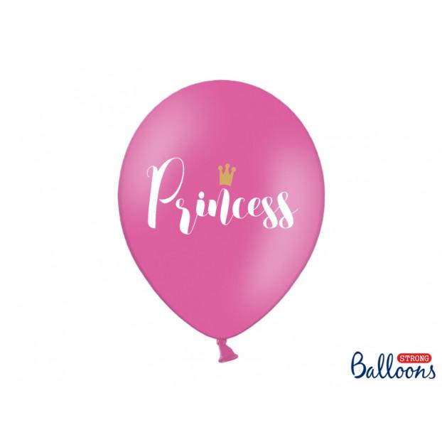 6 balloons 30 cm - Princess