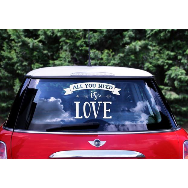 Sticker per auto - Mr. and Mrs.