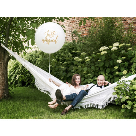 Giant balloon - Just Married