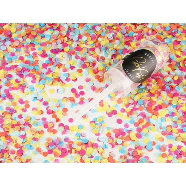 CONFETTI PUSH-POP, GOLD