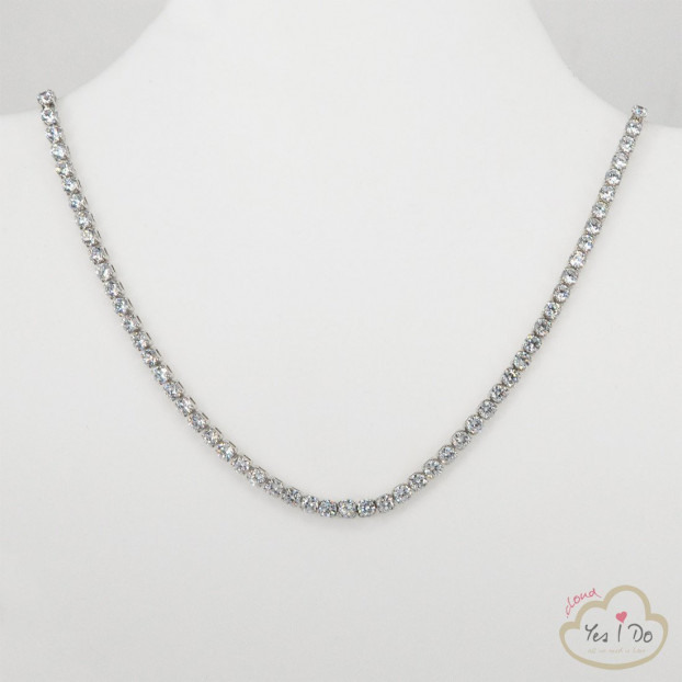 COLLANA IN STRASS CRYSTAL