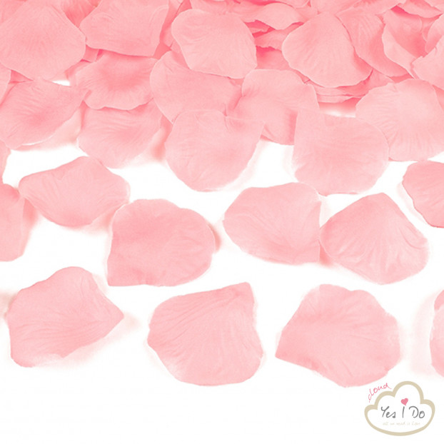 100 ARTIFICIAL PINK ROSE PETALS