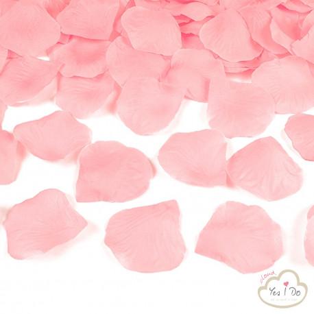 100 ARTIFICIAL PINK ROSE PETALS