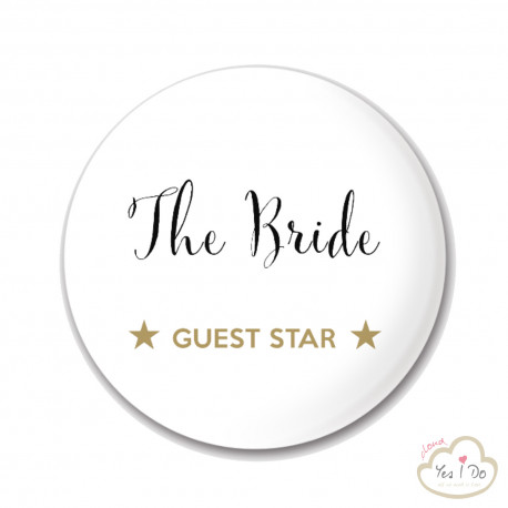 "BRIDE PIN ""THE BRIDE"""