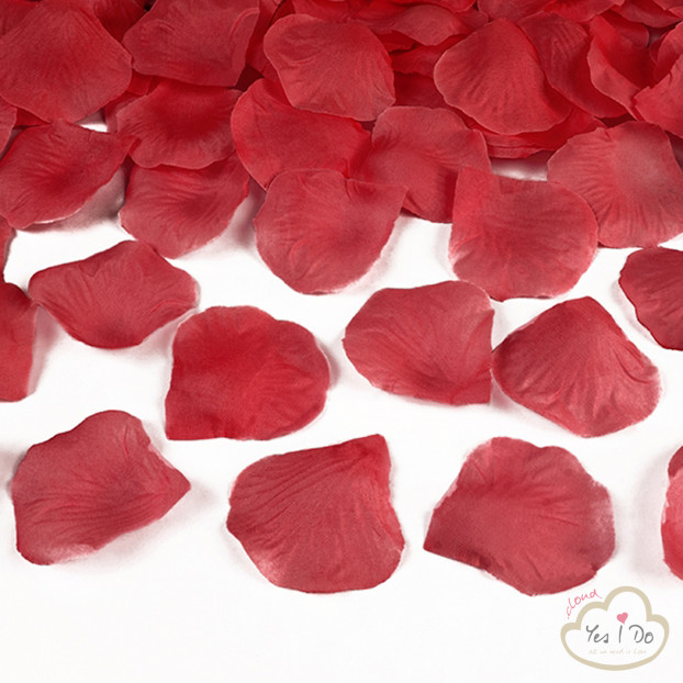 100 ARTIFICIAL RED ROSE PETALS