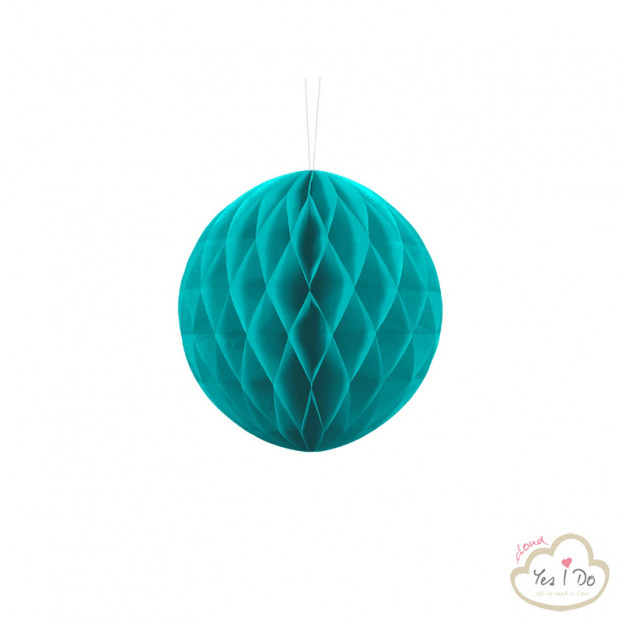 1 LIGHT TURQUOISE HONEYCOMB 20 CM